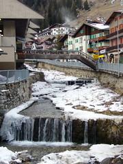Campitello di Fassa Town (newformula) Tags: italy stream dolomites campitello campitellodifassa trentinoaltoadige