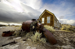 Day4- Bodie/MonoLake/395 (inanutshell) Tags: california ca abandoned d50 geotagged nikon ruins sigma ghosttown bodie shamik 1020 superwideangle californiadreaming inanutshell abouttostorm geo:lat=38208511 geo:lon=119012318