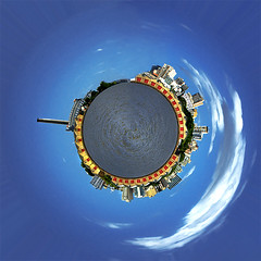 Orla (Porto Alegre Planet) (Omar Junior) Tags: panorama rio grande do pentax d orla portoalegre porto junior planet polar alegre omar ist poa rs riograndedosul sul pentaxistd cais gasometro rgs planetoide