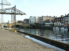 York - River Ouse from Kings Staith (Pablo York) Tags: york travel england europe roman britain yorkshire viking ouse jorvik engeland historie geschiedenis eboracum grootbritannie