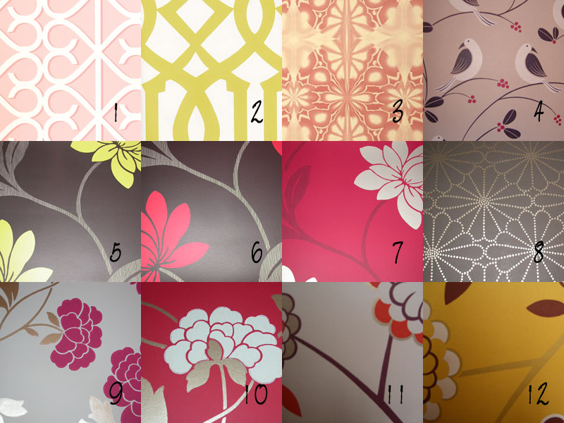 wallpaper swatches