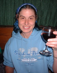me with wine