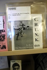 chunk zine now in library