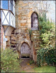 Tower Entrance, Scotney Castle, Lamberhurst, Kent (Lincolnian (Brian)) Tags: door england tower castle window kent nt lovely1 entrance national creativecommons trust abc scotneycastle lamberhurst 50club superbmasterpiece travelerphotos castlespalacesmanorhousesstatelyhomescottages