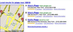 Google Local Reviews in Search Results