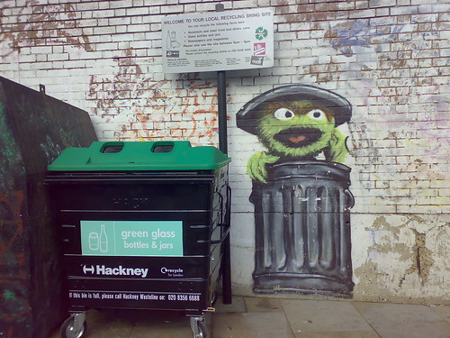 Oscar the Grouch and Recycling