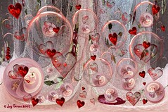 Light Hearted (Imagemakercan - The Lensdancer) Tags: pink red love hearts searchthebest bubbles valentines february flickrchic happyvalentinesday pinkalicious shieldofexcellence joygerowphoto joygerow