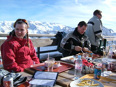 Lunch, day 2 (tom_bennett) Tags: ski meribel freshsnow freshminds