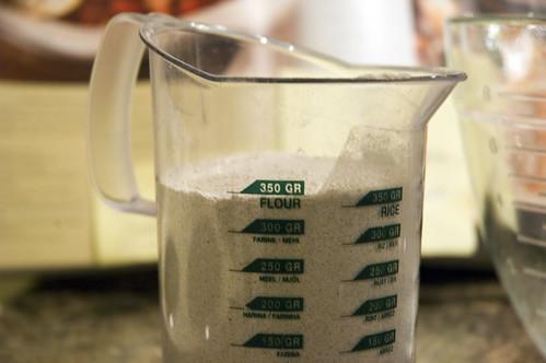 350g buckwheat flour