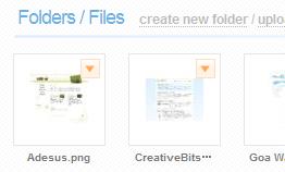 Box.net : 画像のサムネイル表示