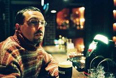 robert (troutfactory) Tags: portrait film japan bar 35mm pub voigtlander bessa drinking rangefinder guinness osaka analogue stout toyonaka hartland natura1600 toyonakashi r2a englishstylepub