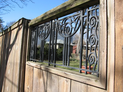 Wrought Iron Fence Fun
