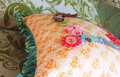 Pillow Hill (annamariahorner) Tags: design sewing pillow gifts homemade fabric quilting
