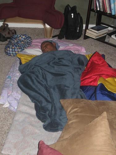 Sister Sleepover Minus 1