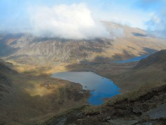Y Garn East Ridge View - by Adrian Fagg
