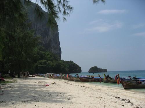 La côté ouest Thaïlande