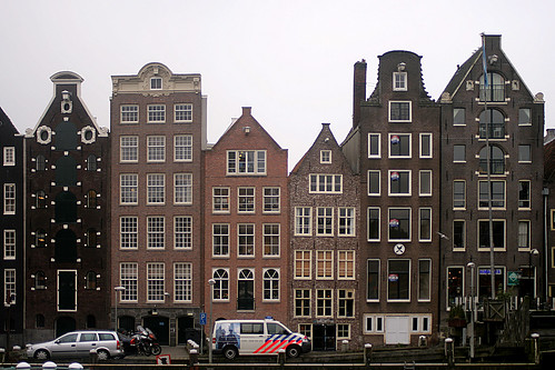 Typical Amsterdam buildings