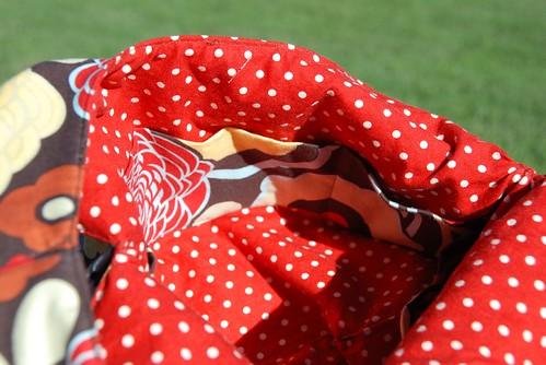 Ping's Grab Bag lining + pocket