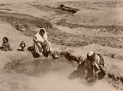The waterhole (Wolfgang Wiggers) Tags: vintage iran persia ایران bushehr bushire