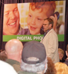 Alton Brown at Cinci Home Garden Show