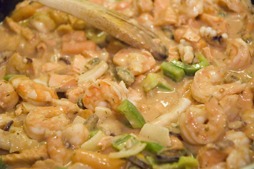 seafood pot pie filling