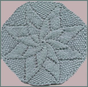 Yvonne's Double Flower Washcloth
