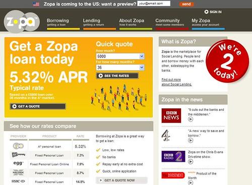 zopa, make money by lending
