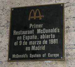 McDonald's Gran V�a