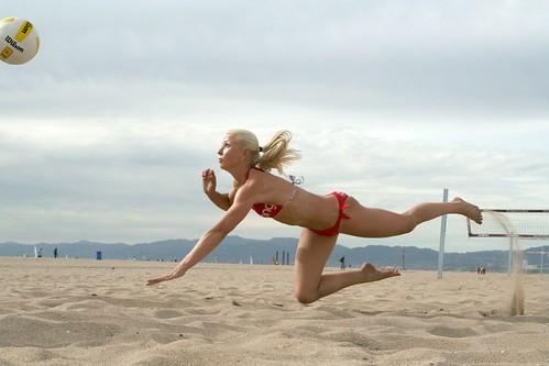 Redondo Beach Volleyball Player