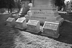 Ouerbacker's Final Resting Place (deatonstreet) Tags: coffee cemetery kentucky hill tombstone historical louisville cave merchant gilmore ouerbacker