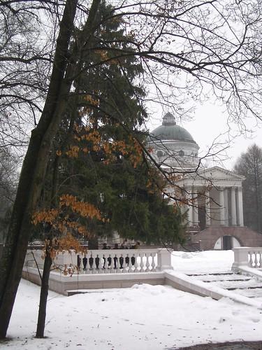 Архангельское зимой