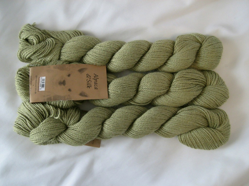 Blue Sky Alpaca/Silk, pale green