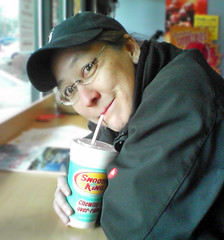 Dianne at the Smoothie King