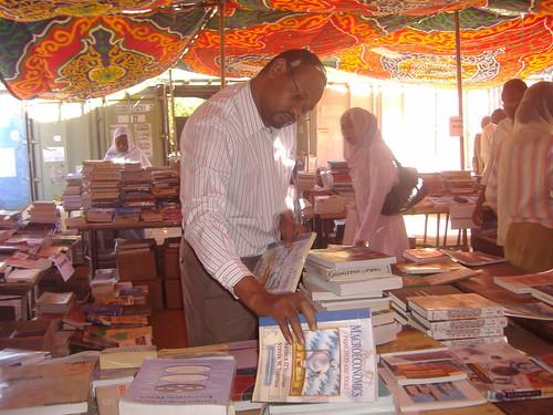 Book distribution in the Sudan