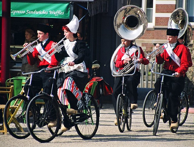 'Marching Band,' Dutch-Style