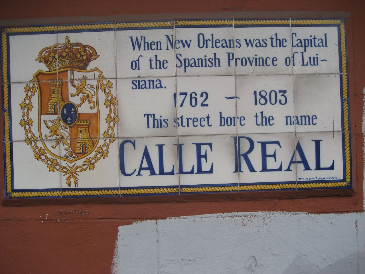 Calle Real / New Orleans