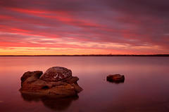 ...the waiting (mike.irwin) Tags: longexposure sunset sky lake color water clouds d50 interestingness nikon rocks long exposure texas searchthebest explore nd lewisville nd400 i500 nikonstunninggallery abigfave impressedbeauty wwwmikeirwinartcom
