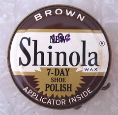 Do you know sh** from Shinola? (apricotX is back!) Tags: brown packaging shoepolish shinola poopreport