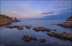 Aigua-xelida (antoniocamero21) Tags: paisaje marina rocas mar playa color foto sony aiguaxelida begur girona catalunya brava costa atardecer