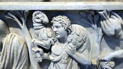Good Shepherd close, Santa Maria Antiqua Sarcophgus
