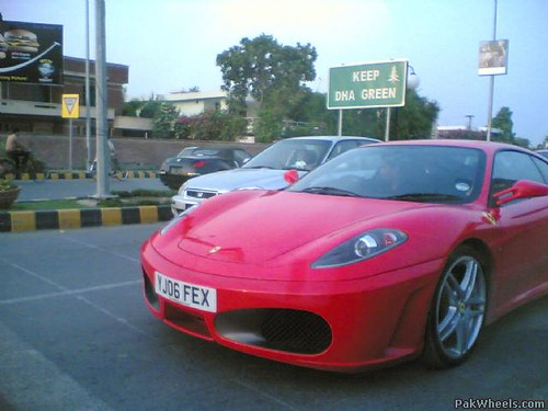 Hot Cars In Pakistan, Ferrari F430 In Lahore