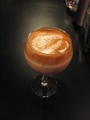 wine or not (Mr. phelps) Tags: art glass coffee milk wine foam espresso latte latteart rosetta rosettas