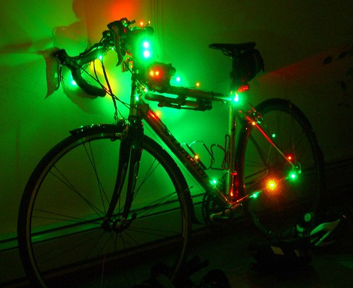 Christmas Bike by JohnCalnan.