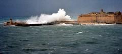 Grigal (Maximus DiFermo) Tags: sea storm port waves harbour malta rough waterline seas maximus valletta difermo
