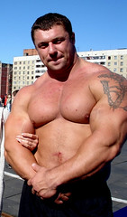 Michael Sidorychev (103) (Pete90291) Tags: pecs muscular chest tattoos strong muscleman biceps abs strongman strongmen worldsstrongestman hugethighs hugelegs michaelsidorychev tattooedmuscle mikhailsidorychev