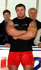 Michael Sidorychev (126) (Pete90291) Tags: pecs muscular chest tattoos strong muscleman biceps abs strongman strongmen worldsstrongestman hugethighs hugelegs michaelsidorychev tattooedmuscle mikhailsidorychev
