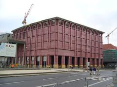 Red Alexa (SebastianBerlin) Tags: berlin germany shoppingcentre 2006 alexanderplatz alexa mitte alexanderstrase berlinmitte  einkaufszentrum stadtzentrum grunerstrase