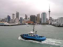 New Zealand - Auckland (Chris&Steve) Tags: city cruise newzealand port island harbor pier boat marine ship harbour cruising vessel auckland wharf southpacific highrise cruiseship northisland tugboat hal tug nautical shipping aotearoa onboard atsea waipapa hollandamerica statendam 10millionphotos photosrus