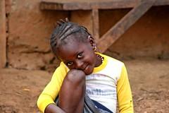 Shy! (Karnaphuli) Tags: africa smile face guinea shy westafrica utatafeature