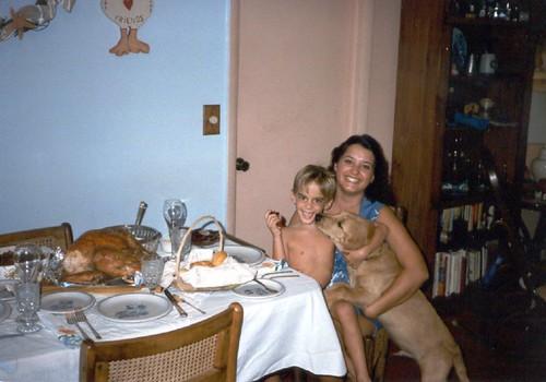 christmas dinner 1985